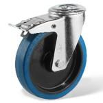 Rola pivotanta frana cu cauciuc elastic (R)